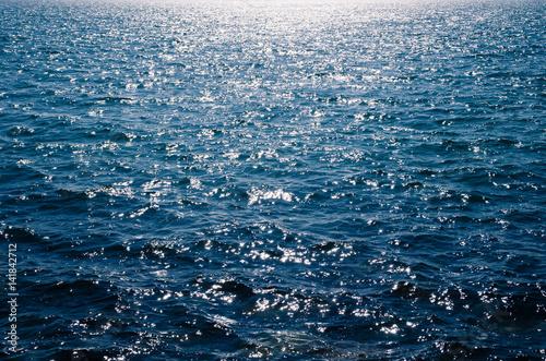 Staande foto Zee / Oceaan 輝く海面