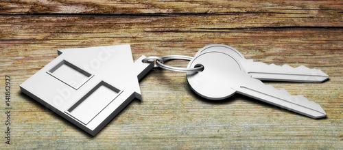 Photo  clés maison