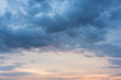 Background Of Cumulus Clouds Sky