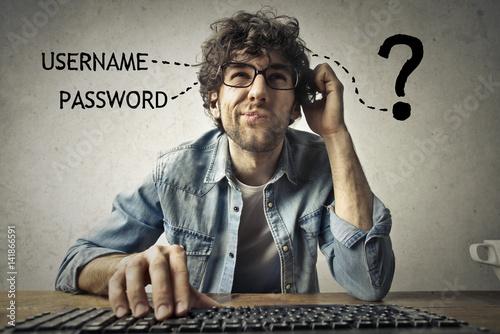 Cuadros en Lienzo  Forgetting access credentials