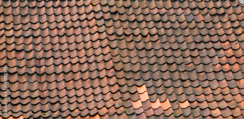 Fotografie, Obraz  Windschiefes Dach