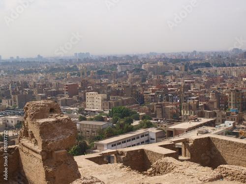 Poster  Teilansicht von Kairo - Ägypten