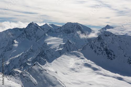 Ötztaler Alpen im Winter (Obergurgl / Hochgurgl) #141907310