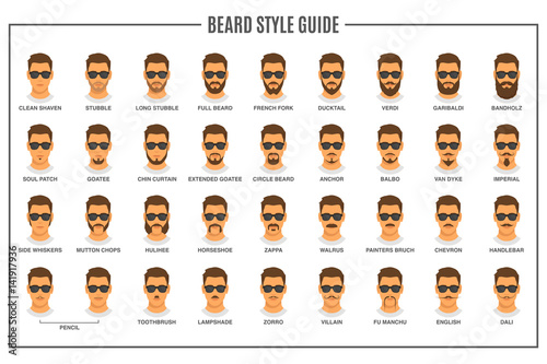 Canvas Beard styles guide