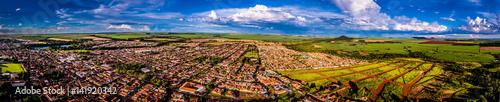 Photo imagem panorama morro agudo brasil nuvens e natureza