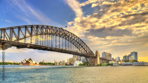 Foto op Plexiglas Sydney Sydney Harbour Bridge from Milsons point, Australia.