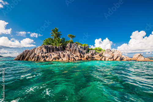 Foto op Canvas Eiland St. Pierre Island at Seychelles