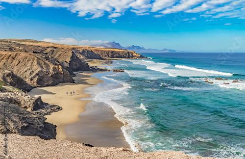 Fotografia  Atlantik Traumbucht an der Westküste von Fuerteventura Playa del Viejo Rey / Spa
