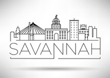 Minimal Savannah Linear City S...