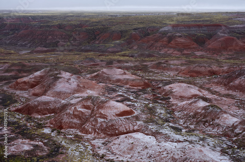 Valokuva  Snow in the Painted Desert
