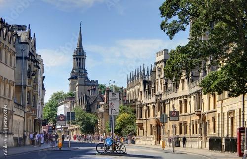 Obraz na plátně ville universitaire d'Oxford