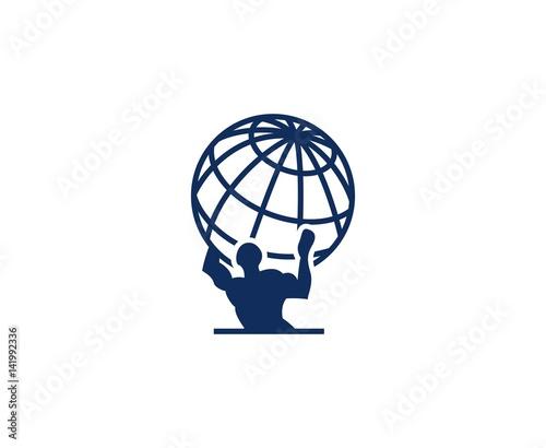 Atlas logo Canvas Print