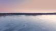 Beautiful scandinavian vibrant summer landscape