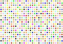 Colorfull Polkadots Wallpaper