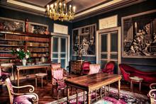 CHATEAU DE GARREVAQUES - Salon...