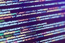 Programming Code On Computer S...