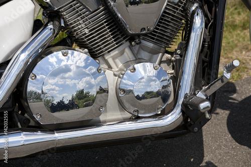 Fotografie, Obraz  Part of motorcycle