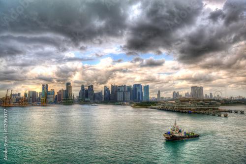 Obraz na plátne  Singapur