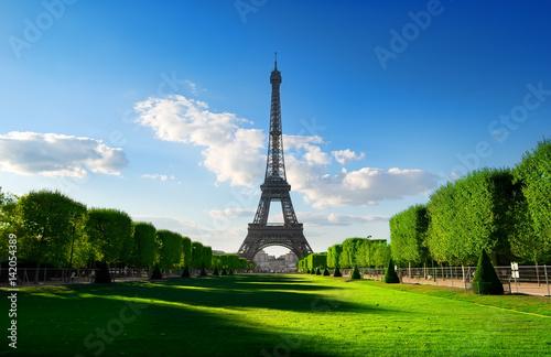 Photo  Spring at Champs de Mars
