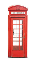 Traditional Telephone Booth In...