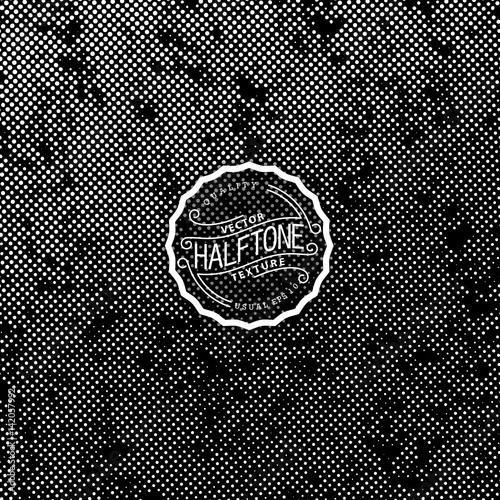 Photo Vector halftone background