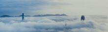 Misty Hong Kong City In Spring Seasons