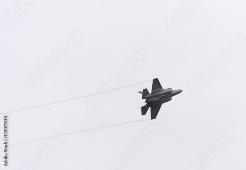 F-35 fighter jet Canvas Print