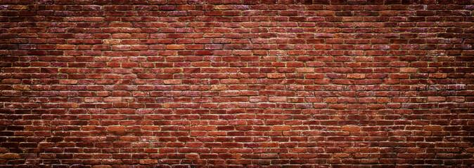 panoramski pogled na zidanje, zid od opeke kao pozadina