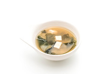 Miso Soup - Japanese Food Style