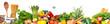 Leinwanddruck Bild - Food background