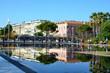 Tramway place Massena, Coulée verte à Nice