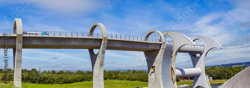 Poster Channel The Falkirk Wheel