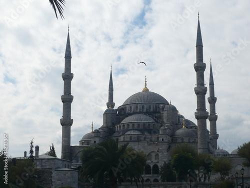 Photo  Sultan Ahmed Mosque in Istanbul