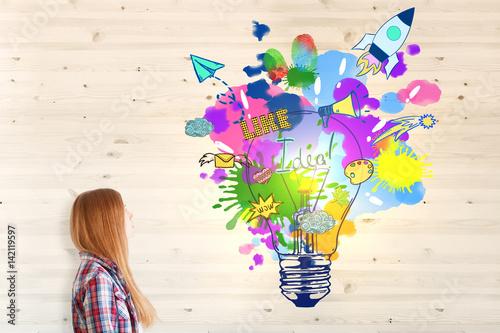 Obraz Creative idea concept - fototapety do salonu