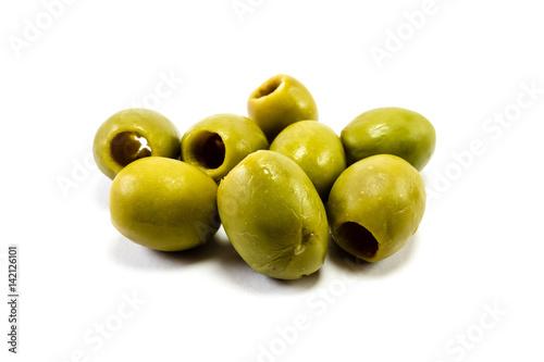 Cuadros en Lienzo Grüne Oliven isoliert