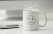 Leinwanddruck Bild - tazza, risveglio, ottimismo, felicità