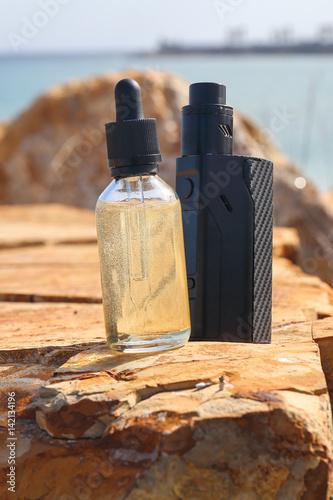 Fotografie, Obraz  e-liquido e sigaretta elettronica 3