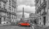 Fototapeta Wieża Eiffla - Avenue de Camoens in Paris