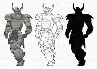 Cartoon character draw
