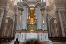 """Innenansicht Der Kathedrale De La Santa Cruz"""" In Cádiz, Andalusien, Spanien"""