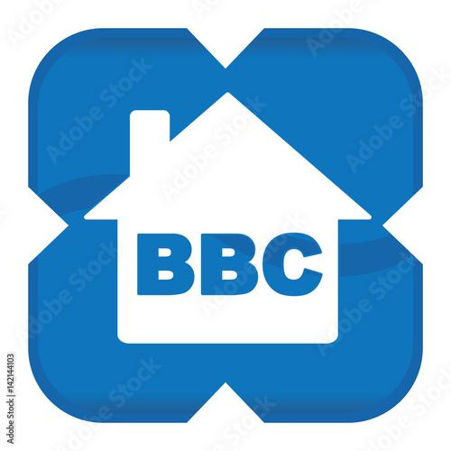 home bbc icon Wallpaper Mural