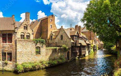 In de dag Brugge Canal in Bruges