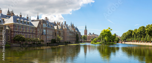 Photo Binnenhof palace in Hague