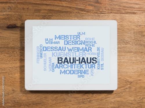 Bauhaus плакат