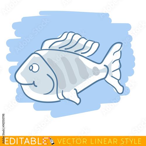 Fotografie, Obraz  Exotic fish nemo