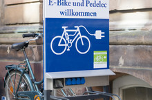 E-Bike Ladestation.