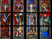 Stained Glass In Brussels Sabl...