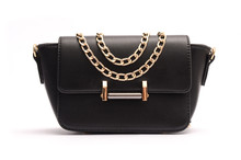 Black Fashion Woman Clutch , Ladies Handbag