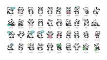 Cute Panda, Stickers Collectio...