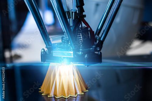 Fotografie, Obraz  3D printing machine
